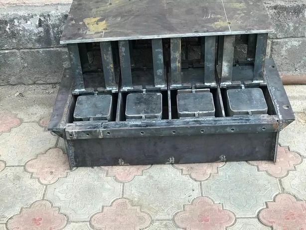 Матрица для сплитерных пескоблоков пеноблоков шнек для цемента