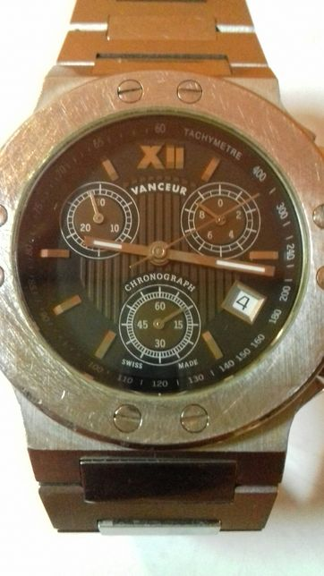 OKAZIE !!! Vanceur Chronograph Swiss Made Ceas Barbatesc