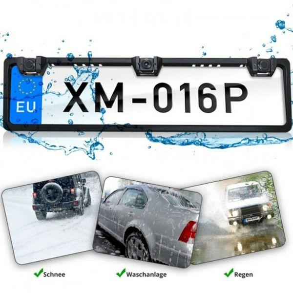 Парктроник и камера вградени в рамка на регистрационен номер гр. Русе - image 1