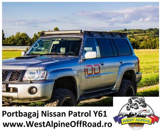 Portbagaj Nissan Patrol Y61 (1998-2004) / Y61 GU4(2005+)- SLIM OFFROAD