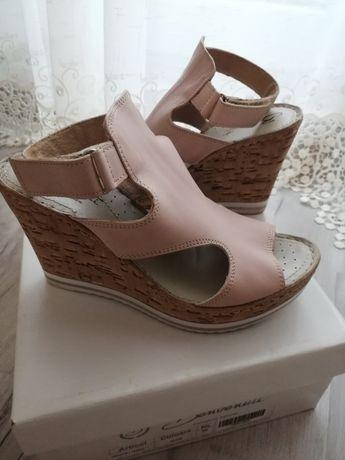 Sandale Benvenutti piele