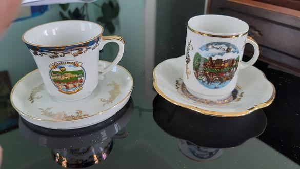 чаши за кафе, фин порцелан