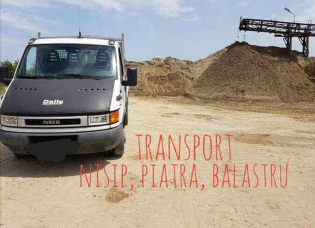 Piatra nisip balast transport basculabil