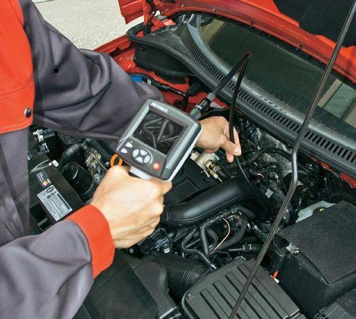 Проверка авто компьютерная диагностика толщиномер дымогенератор