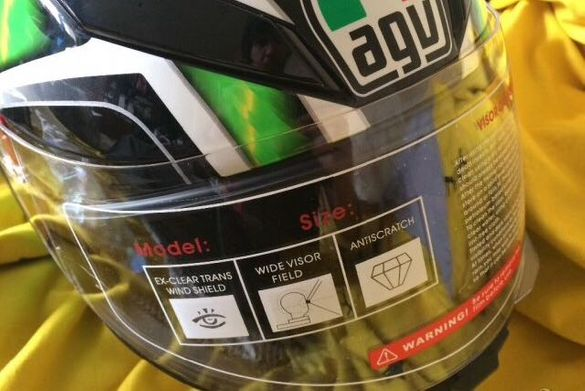 AGV K5-S Hurricane Green - размер MS