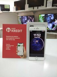 Телефон Iphone 8 plus 64 GB Рассрочка12м ! KASPI RED ! Гарантия!