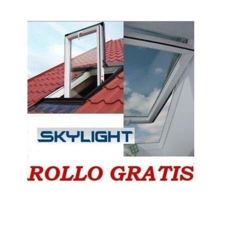 ПВЦ Покривни прозорци Скъфенстер SkyFenster + Обшивка + БЕЗПЛАТНИ щора