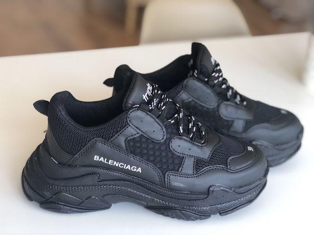Adidasi Sneakers Balenciaga Triple S Black