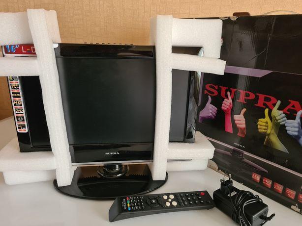 Продам новый LED телевизор со встроенным DVD плеером