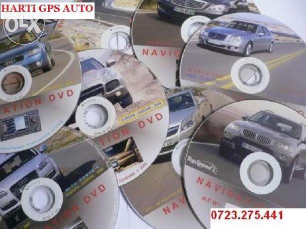 CD DVD NAVI Harti Gps BMW,AUDI,VW,Volvo,NISSAN,Renault,Opel,Toyota GPS