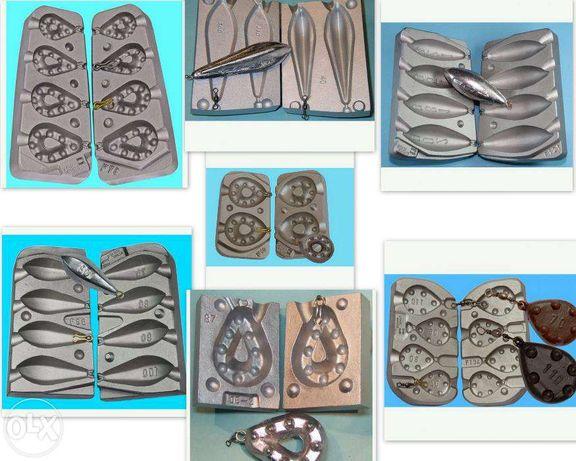 matrite plumbi ficsi pentru pescuit modele la alegere
