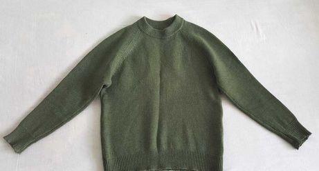 Pulover culoare verde mărimea 46 -48