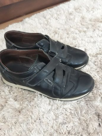 Pantofi piele Marellbo băieți.