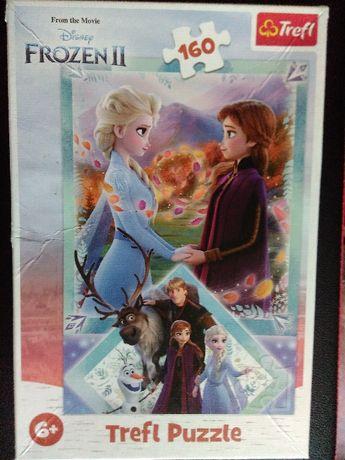 Пъзели на Анна и Елза - Леденото кралство - различни!