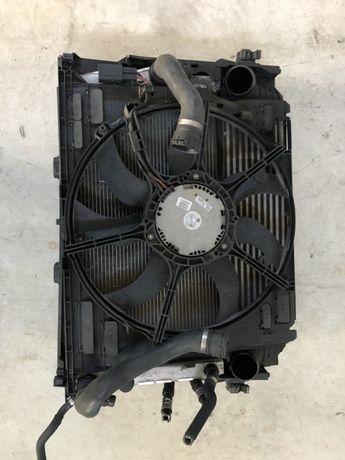 Радиатори/ перка БМВ Ф01, 730д (radiatori BMW F01, 730D)