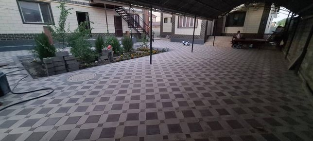Брусчатка, Тротуарная плитка на заказ, Кызылорда, т.д есть звоните 1