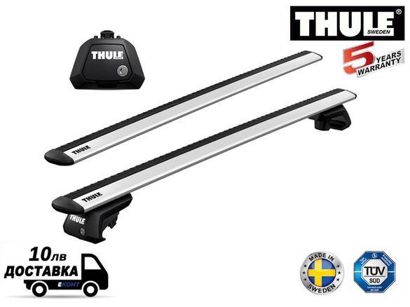 Багажник Напречни греди Thule WingBar Evo 118cm + Evo Raised Rail 7104