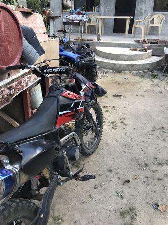 Moto kxd 125 toba akrapovic
