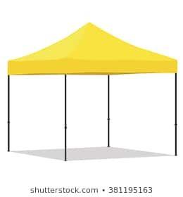 Cort pavilion pliabil 3×3 galben PREMIUM !!!