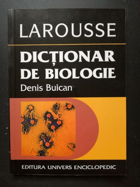 Dictionar de Biologie - Larousse