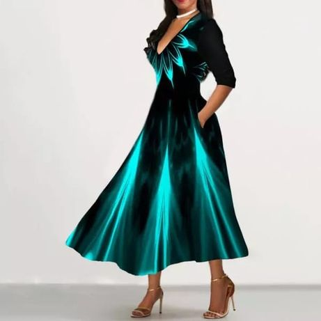Продаю, нарядное платье 50 размера, новое, на высокую девушку