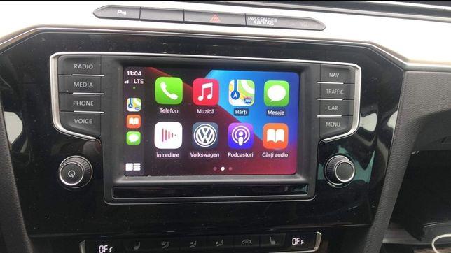 CarPlay Android Auto YouTube Netflix VW Audi Skoda Waze VIM AppConnect