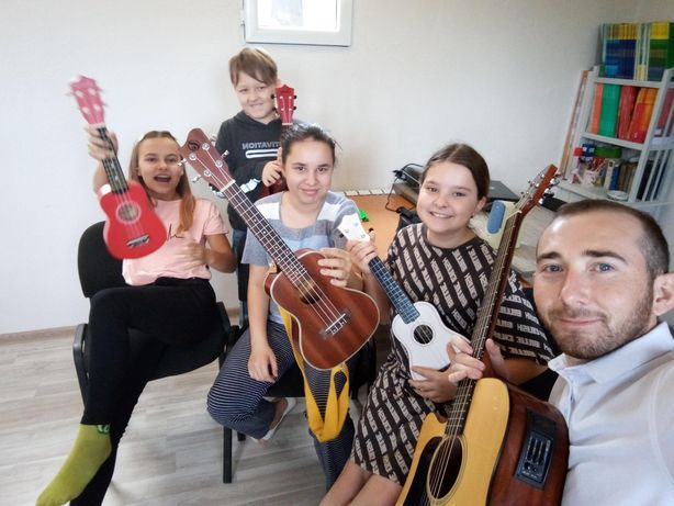 Обучение I Гитара   Укулеле   Вокал   Онлайн   Выезд на дом