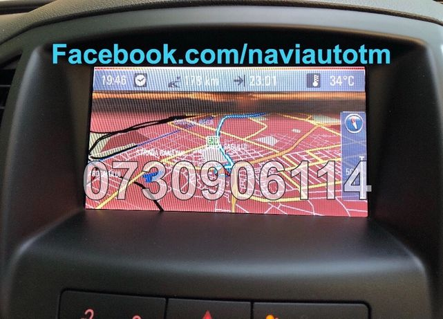 OPEL Insignia Astra J harta navigatie CD500 / DVD800 NAVI 2019 Romania