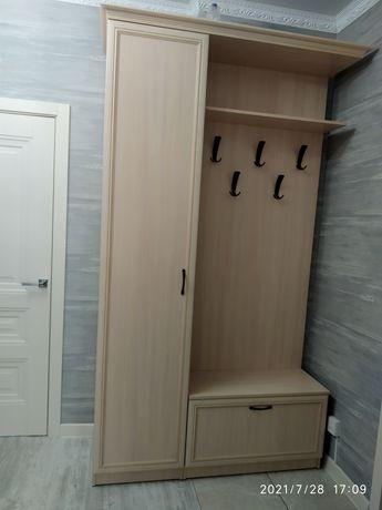 Прихожая шкаф цвет дуб молочный