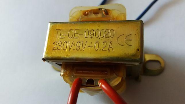 Transformator 230v 9v 0.2A