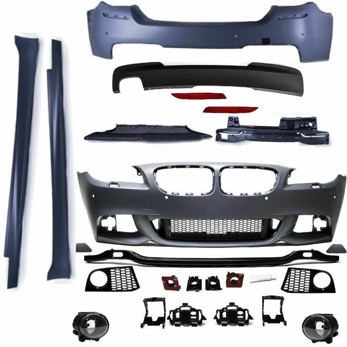 M-Paket Exterior Compatibil cu Seria 5 F10 2010-2013 Non Facelift Targoviste - imagine 1