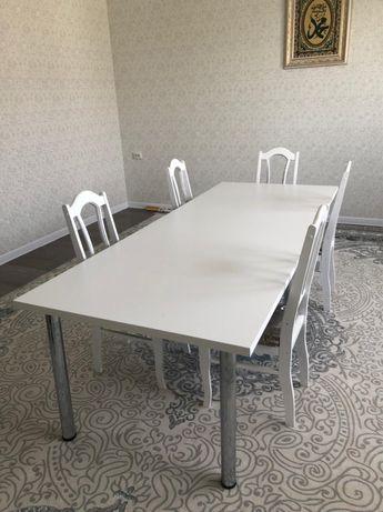 Продается стол с стульями!