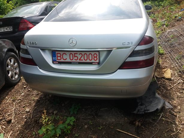 Dezmembrez Mercedes s Class w221 2009 motor 3.0 v6, 7g tronic