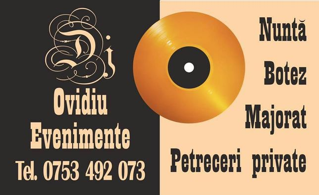 DJ IASI Nunta DJ Botez DJ Majorat, Artisti, Sunet, Lumini