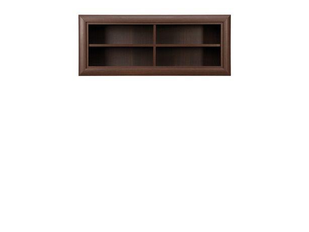 Шкаф для книг навесной, коллекции Коен, Венге Магия, БРВ Брест