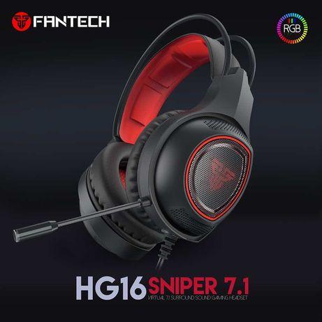 Новые игровые наушники HG 16 Fantech