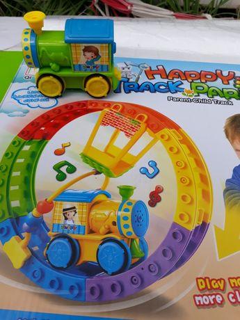 Игрушки поезд  (подарка)