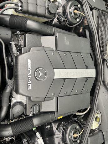 W220 S55 AMG  распил япония авторазбор мерс контракный двигатель бу