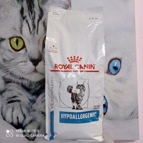 Гипоаллергенный корм для кошек Royal Canin, Роял канин для кошек