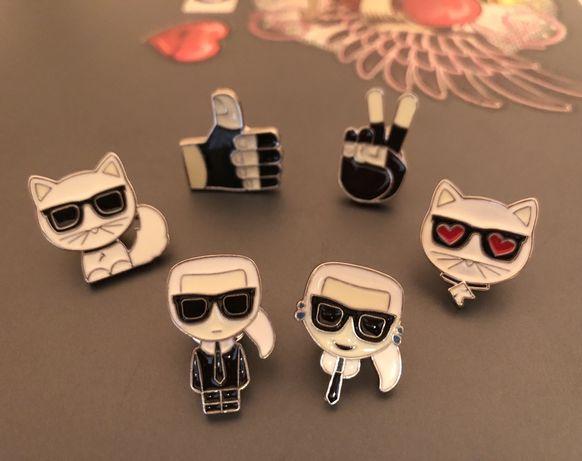 Karl Lagerfeld - Брошки
