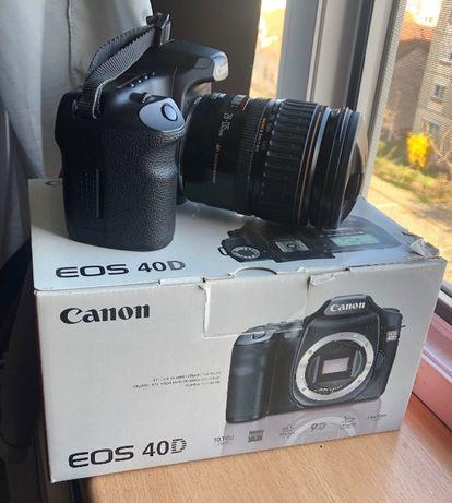 Canon 40D + ob.Canon 28-135mm