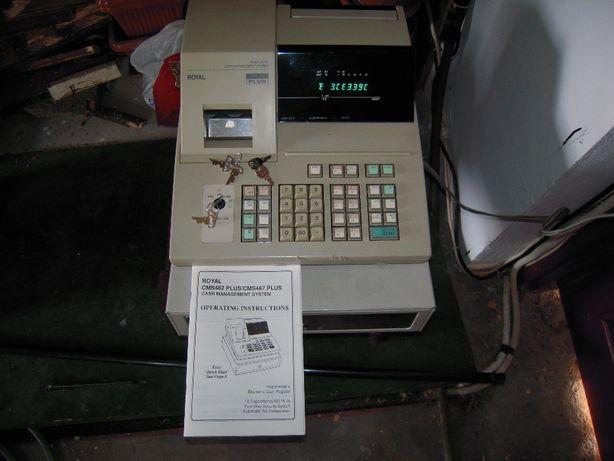 Casa de marcat cu sertar pt. colectionari anii '90 ROYAL CMS 487 PLUS
