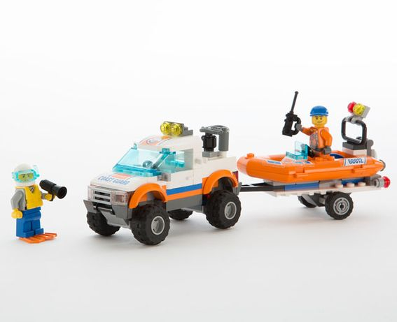 LEGO 60012 4x4 and Diving Boat