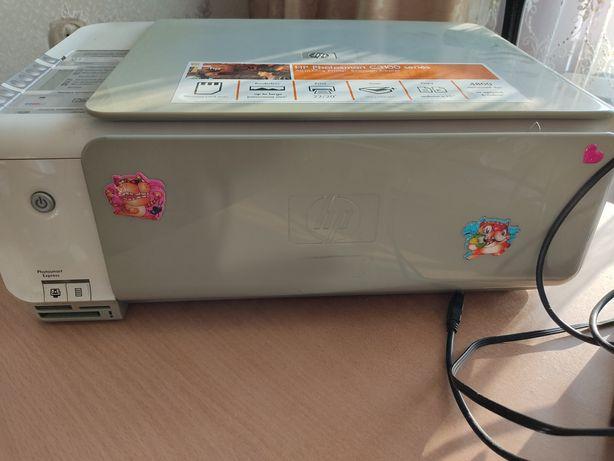 Hp C3100 принтер сканер копия 3в1