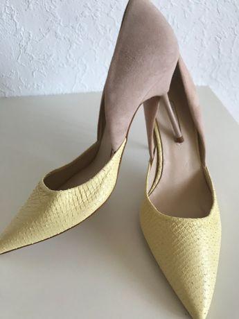 Pantofi superbi, piele naturala, noi, 39, raritate