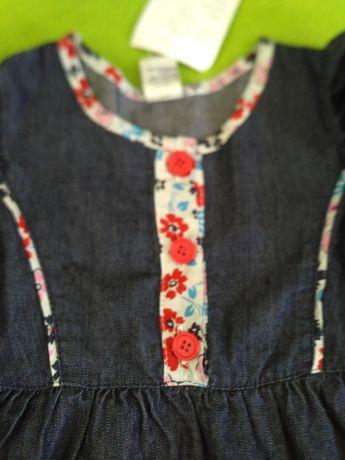 Дънкова рокля Oshkosh нова с етикет