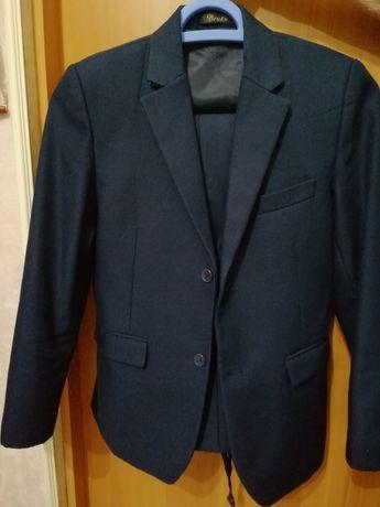 Школьный костюм тёмно-синий