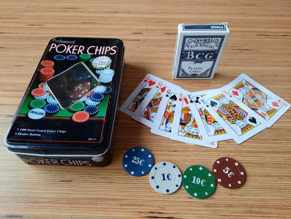 Joc poker + carti de joc Bucuresti - imagine 1