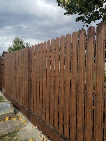 Tabla acoperis Bilka / sipca metalica / gard orizontal/ gard exterior