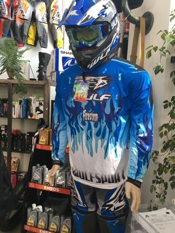 Costum motocross Wulfsport Firestorm - si in rate prin TBIpay
